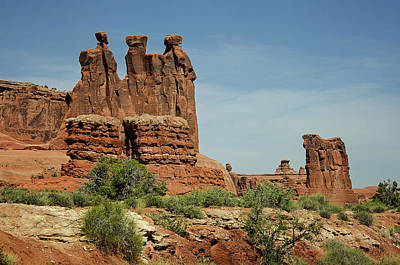 Photograph - Arches National Park 3 by Susan McMenamin