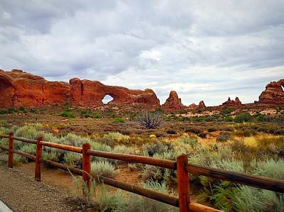 Photograph - Arches National Park by Anne Sands