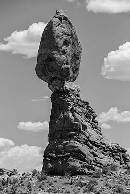 Photograph - Arches National Park Balance Rock  by John McGraw