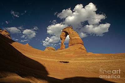 Photograph - Arches National Park Delicate Arch  by Jim Corwin