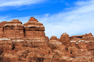 Photograph - Arches National Park Detail by Ben Graham