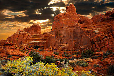 Photograph - Arches National Park by Harry Spitz