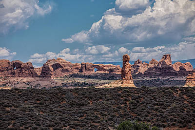 Photograph - Arches National Park by John McGraw