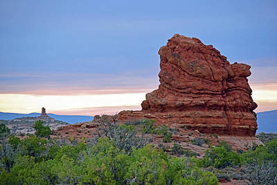 Photograph - Arches National Park No. 1-1 by Sandy Taylor