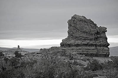 Black Photograph - Arches National Park No. 1-2 by Sandy Taylor