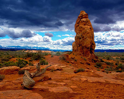 Photograph - Arches National Park by Norman Hall
