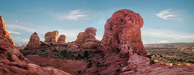 Photograph - Arches National Park Panorama by Daniela Constantinescu