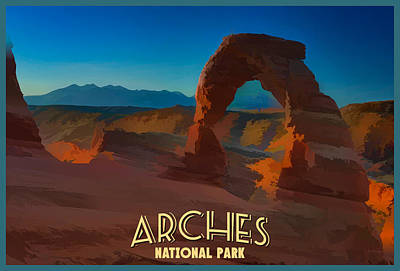 Photograph - Arches National Park by Rick Berk