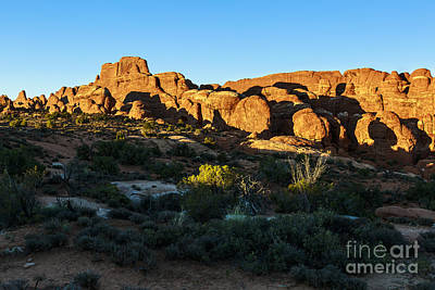 Photograph - Arches National Park Sunset by Ben Graham