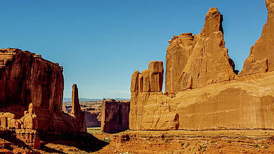 Photograph - Arches National Park Towers by Marilyn Burton