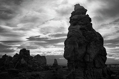 Photograph - Arches Np Ix Bw by David Gordon
