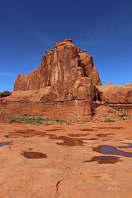Photograph - Arches Np Red Rockformation by Christiane Schulze Art And Photography