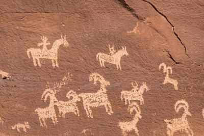 Photograph - Arches N.p. Wolfe Ranch Petroglyphs by Michael Gooch