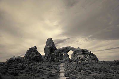 Photograph - Arches Np X Toned by David Gordon