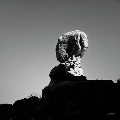 Photograph - Arches Np Xvii Bw Sq by David Gordon