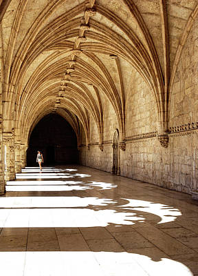 Photograph - Arches Of Jeronimos by Marion McCristall