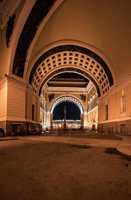 Photograph - Arches Of Sankt Petersburg by Jaroslaw Blaminsky