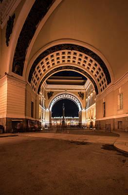 Photograph - Arches Of Sankt Petersburg by Jaroslaw Blaminsky