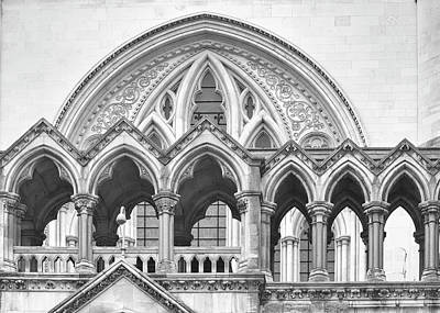 Photograph - Arches Over The Court by Shirley Mitchell