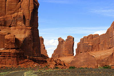 Arches Park 2 Art Print by Marty Koch