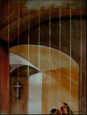 Painting - Arches by Robert D McBain