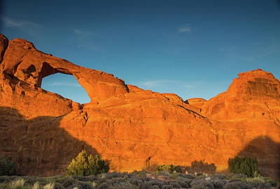 Photograph - Arches Sunset by Kunal Mehra