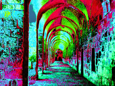 Photograph - Arches Surreal - Florence Italy by Merton Allen