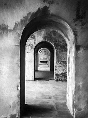 Photograph - Arches by Trevor Wintle