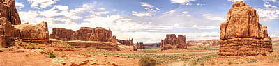 Digital Art - Arches Utah by Dave Luebbert