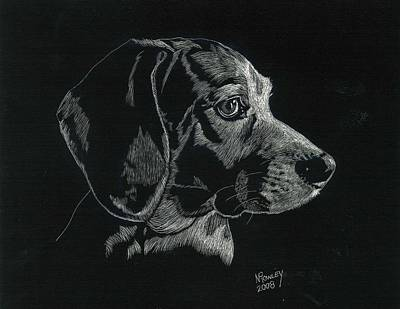 Archie Art Print by Norma Rowley