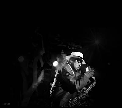 Avant Garde Jazz Photograph - Archie Shepp- Attica Blues Big Band  by Jean Francois Gil