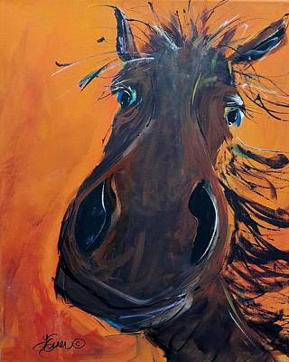 Painting - Archie by Terri Einer