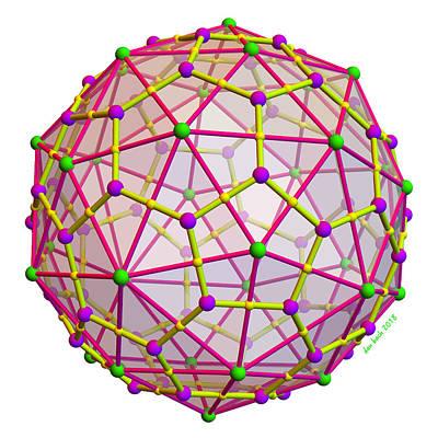 Digital Art - Archimedean Duals by Dan Bach