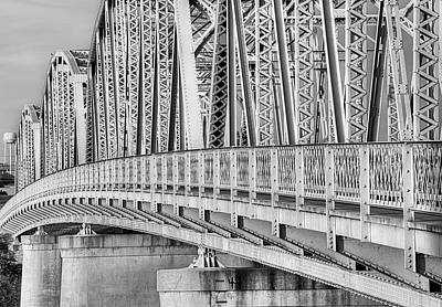 Photograph - Arching Over The Llano Black And White by JC Findley