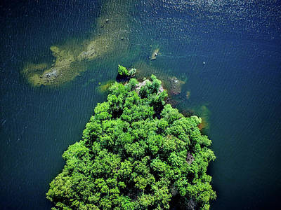 Aerial Wall Art - Photograph - Archipelago Island - Aerial Photography by Nicklas Gustafsson