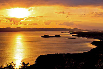Photograph - Archipelago Of Dalmatia Sunset View by Brch Photography