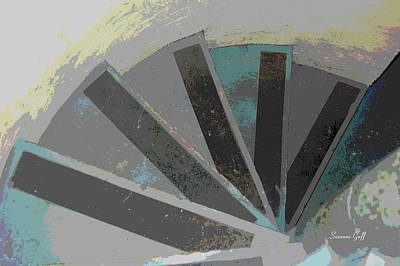 Architectural Abstract Art Print by Suzanne Gaff