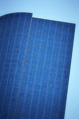 Photograph - Architectural Blues by Nadalyn Larsen