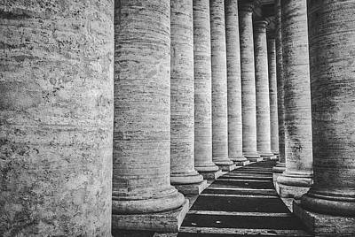 Photograph - Architectural Columns by Pixabay
