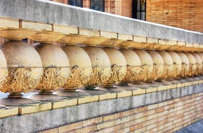 Photograph - Architectural Detail - 2 by David Bearden