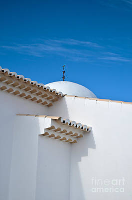 Architectural Detail Of Church Of St. Anthony In Portugal Art Print