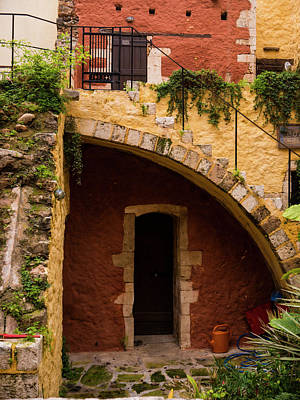 Photograph - Architectural Details In Chania by Rae Tucker