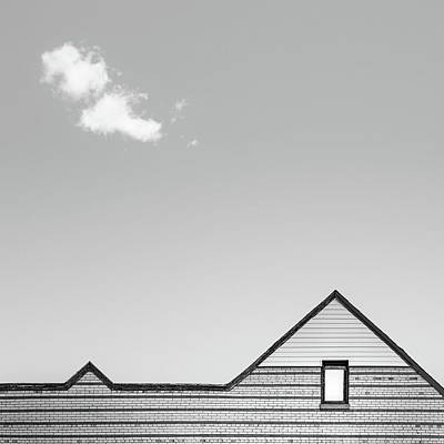 Minimal Photograph - Architectural Ekg by Scott Norris