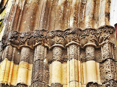 Photograph - Architectural Elements by Erika H