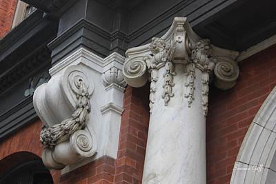 Architectural Elements-savannah Georgia Art Print