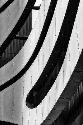Photograph - Architectural Flow 09 by Mark David Gerson