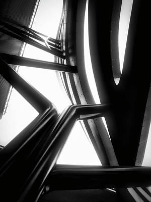 Photograph - Architectural Flow 03 by Mark David Gerson