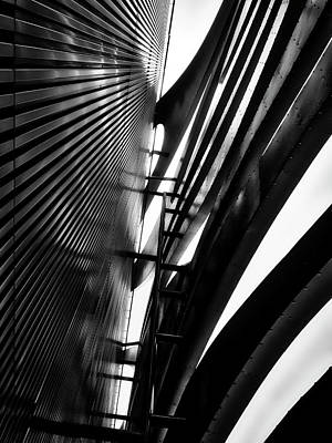 Photograph - Architectural Flow 05 by Mark David Gerson