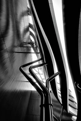Photograph - Architectural Flow 07 by Mark David Gerson