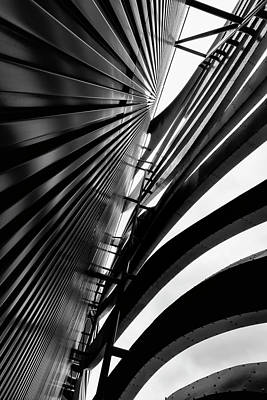 Photograph - Architectural Flow 08 by Mark David Gerson